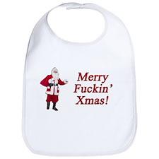 Merry Fuckin' Xmas Bib