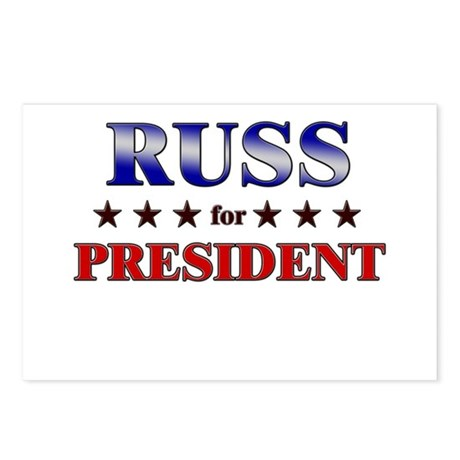 RUSS for president Postcards (Package of 8)