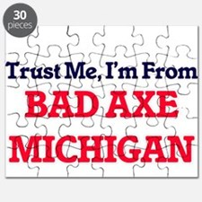 Trust Me, I'm from Bad Axe Michigan Puzzle