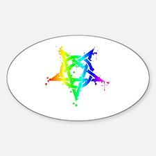Unique Heterosexual Sticker (Oval)