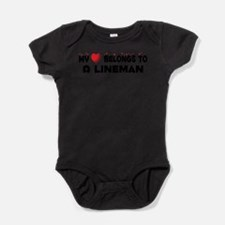 Cool Knitting crafts funny humor hearts Baby Bodysuit