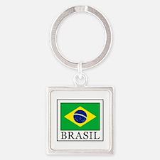 Cute Sao paulo Square Keychain