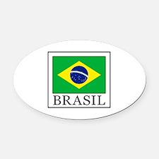Cute Rio de janeiro Oval Car Magnet
