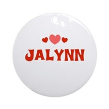 Jalynn Ornament (Round)