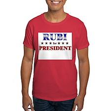 RUBI for president T-Shirt