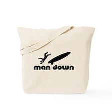 man down surfer Tote Bag