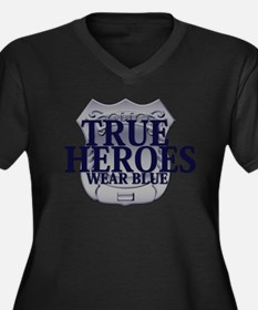 Police: True Heroes Plus Size T-Shirt