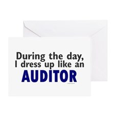 Dress Up Like An Auditor Greeting Card