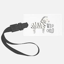 Wild Child Luggage Tag