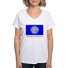 Hartford CT Flag Shirt