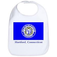 Hartford CT Flag Bib