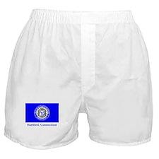 Hartford CT Flag Boxer Shorts