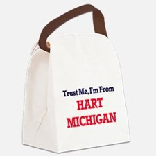 Trust Me, I'm from Hart Michigan Canvas Lunch Bag