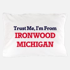 Trust Me, I'm from Ironwood Michigan Pillow Case
