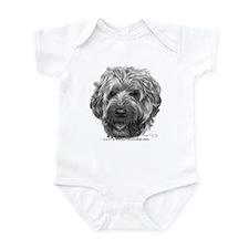 Soft-Coated Wheaten Terrier Infant Bodysuit