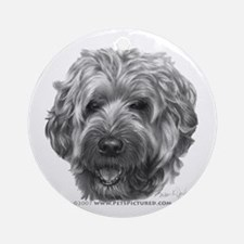 Soft-Coated Wheaten Terrier Ornament (Round)