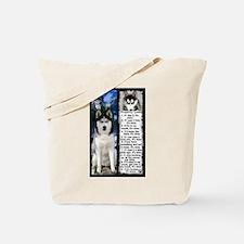 Siberian Husky Dog Laws Rules Tote Bag