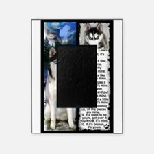 Siberian Husky Dog Laws Rules Picture Frame