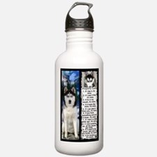 Siberian Husky Dog Laws Rules Water Bottle