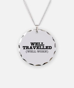 WELL TRAVELLED (WELL WORN) ! Necklace