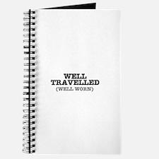 WELL TRAVELLED (WELL WORN) ! Journal