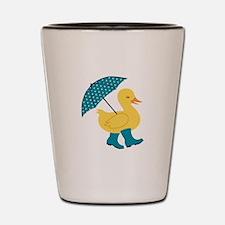 Rain Duck Shot Glass