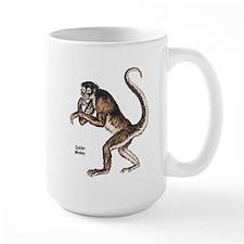 Spider Monkey Ceramic Mugs