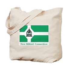 New Milford CT Flag Tote Bag