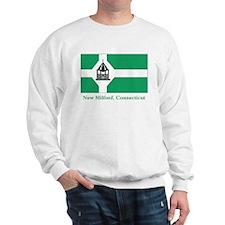 New Milford CT Flag Sweatshirt
