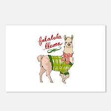 Falalala Llama Postcards (Package of 8)