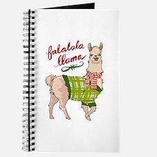 Falalala Llama Journal