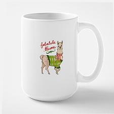 Falalala Llama Mugs
