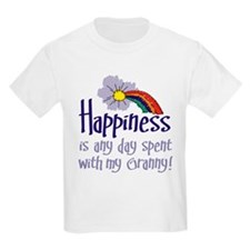 HAPPINESS IS DAY W/ GRANNY! T-Shirt