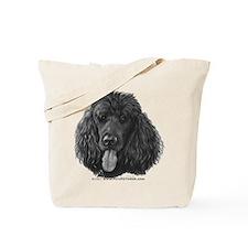 Shadow, Standard Poodle Tote Bag