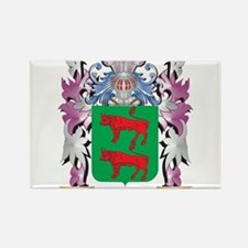 Becerra Coat of Arms (Family Crest) Magnets
