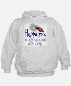 HAPPINESS IS DAY WITH NANNY! Hoodie
