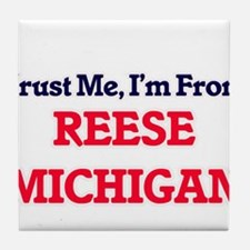 Trust Me, I'm from Reese Michigan Tile Coaster