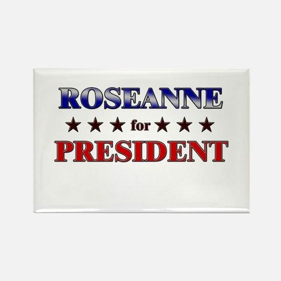 ROSEANNE for president Rectangle Magnet