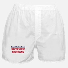 Trust Me, I'm from Riverview Michigan Boxer Shorts