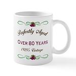 Over 80 Years Mug