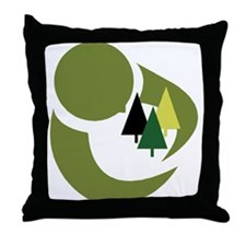 Protect The Trees Throw Pillow