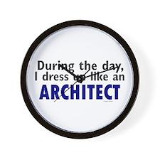 Dress Up Like An Architect Wall Clock