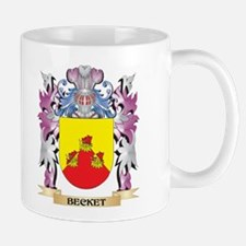 Becket Coat of Arms (Family Crest) Mugs