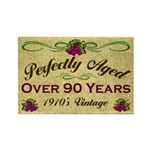 Over 90 Years Rectangle Magnet (10 pack)