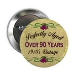 Over 90 Years Button
