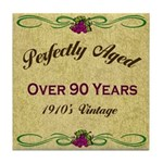 Over 90 Years Tile Coaster