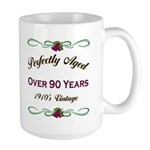 Over 90 Years Large Mug