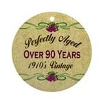 Over 90 Years Ornament (Round)