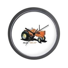 Antique Tractors Wall Clock