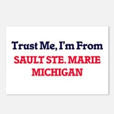 Trust Me, I'm from Sault Postcards (Package of 8)